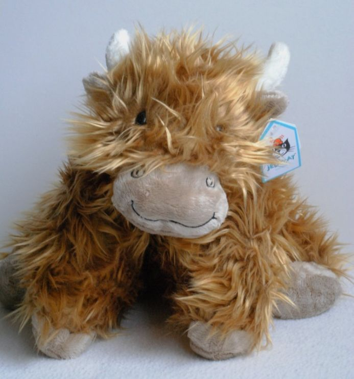 Medium Jellycat Highland Cow